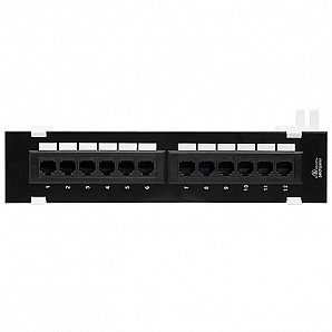 CTEK-PP01 ( Cat5e/Cat6 Patch Panel )